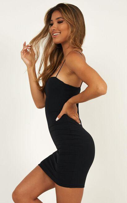Make You Mine dress in black - 4 (XXS), Black, hi-res image number null