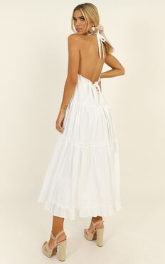 Where You Belong Dress In White