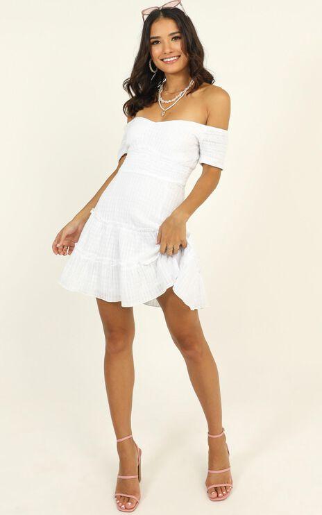 Positano Bound Dress In White