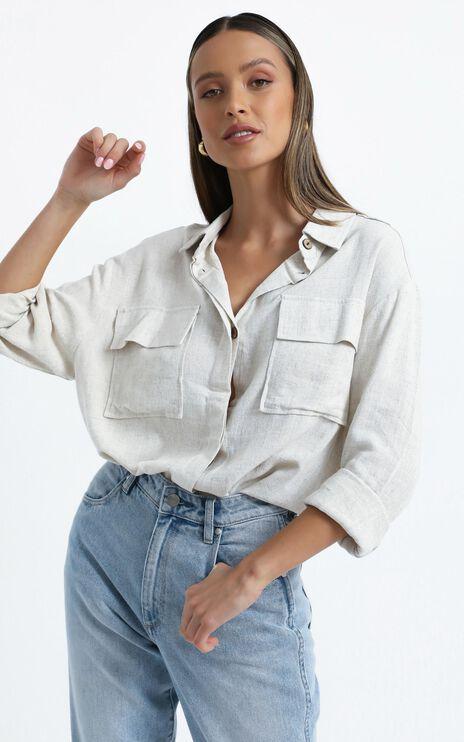 Mooney Shirt in Grey