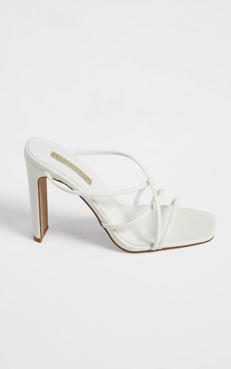 Billini - Yenta Heels in White