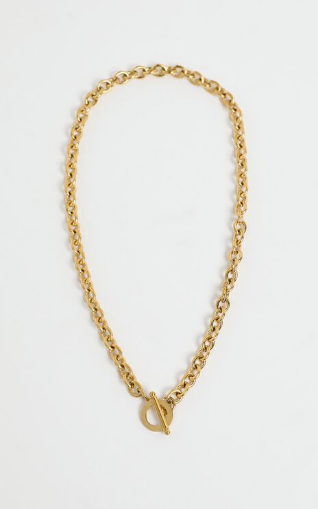 Brea Necklace in Gold