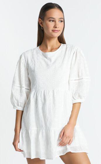 Lore Dress in White