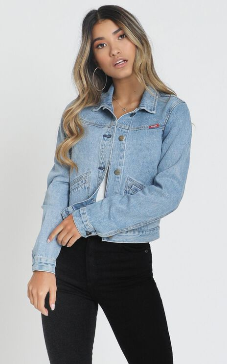 Wrangler - Blondie Denim Jacket In Cortez Blue