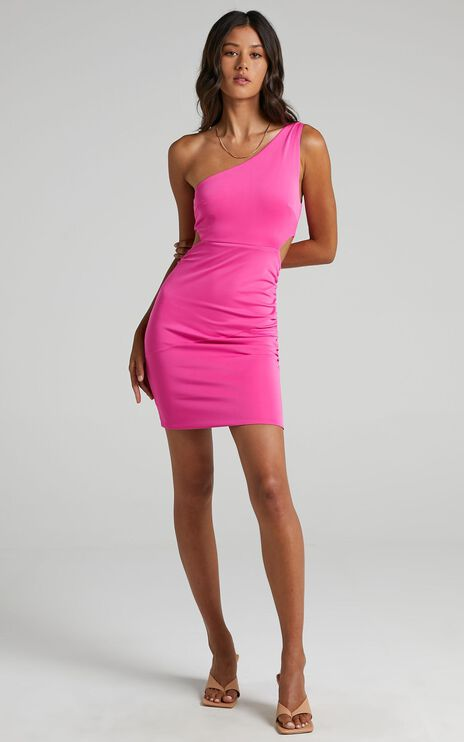 Issi Dress in Hot Pink