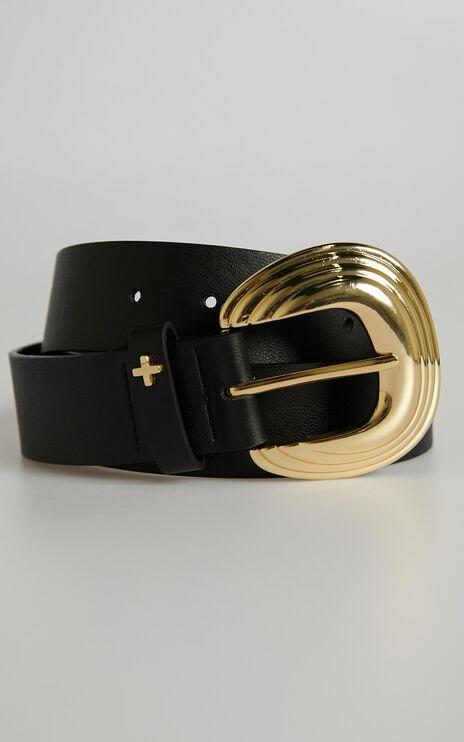Peta and Jain - Whitney Belt in Black Gold