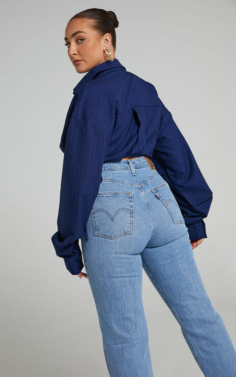 Levis - Ribcage Ankle Jean in Tango Status