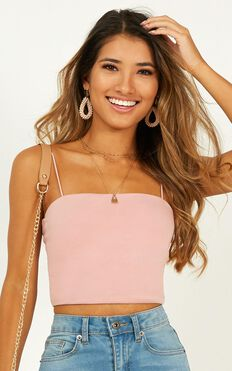 Modern Gal Top In Pink