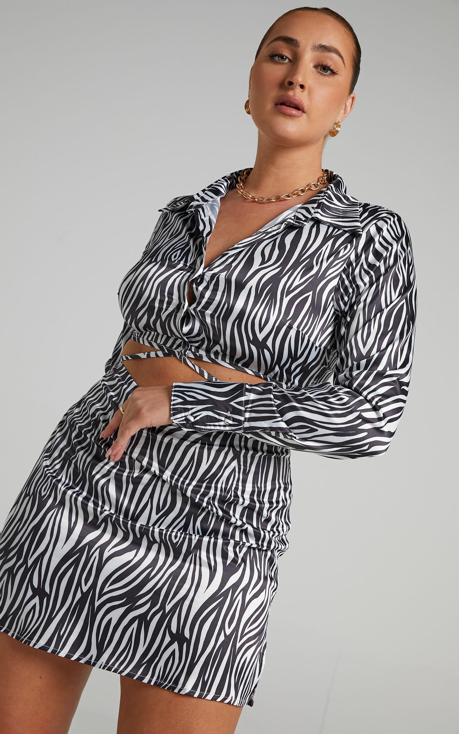 Sineone Skirt in Zebra - 06, MLT1, super-hi-res image number null