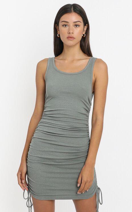 Kailey Dress in Khaki