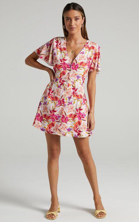 Daiquiri Dress in Eventful Bloom
