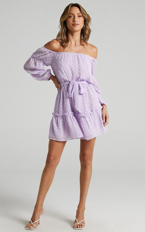 Party Life Dress in Lilac