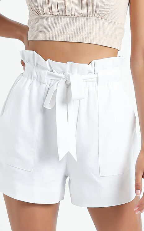 All Rounder Shorts in White
