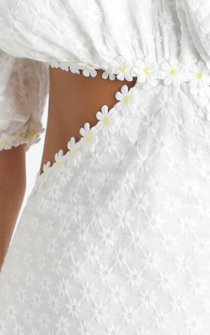 A Special Time Dress in white embroidery - 20 (XXXXL), White, hi-res image number null