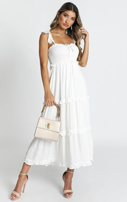 Good For The Soul dress in white - 16 (XXL), White, hi-res image number null