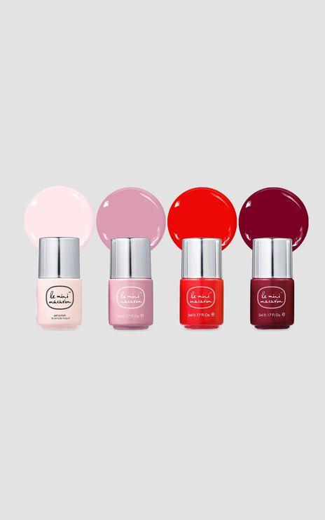 Le Mini Macaron - Le Maxi Gel Manicure Kit in Rouge & Moi