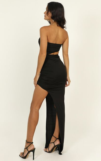 Pretty Young Thing Maxi Dress in black - 14 (XL), Black, hi-res image number null