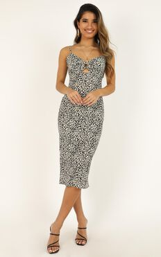 This One Is For You Dress In Leopard Print