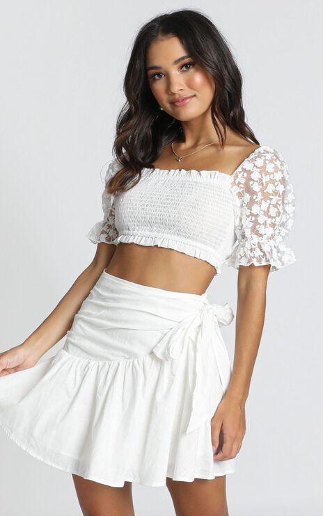 Day Dream Skirt In White