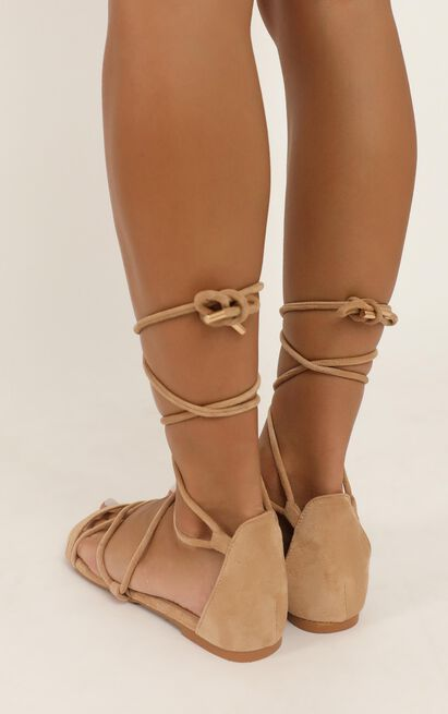 Billini - Dhana Sandals in camel micro - 10, Camel, hi-res image number null
