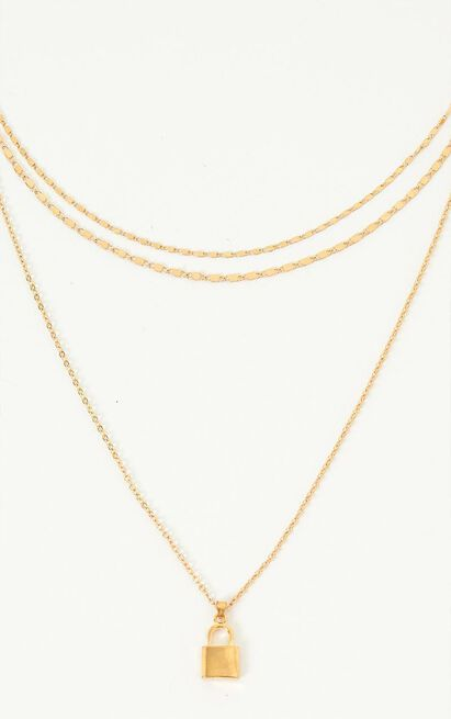 Together We Can Necklace In Gold, , hi-res image number null