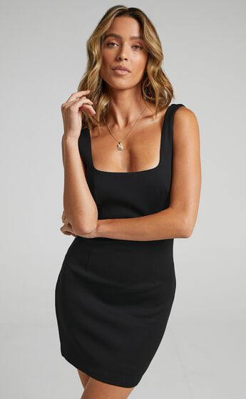 A Whole Lot Of Love Dress in Black