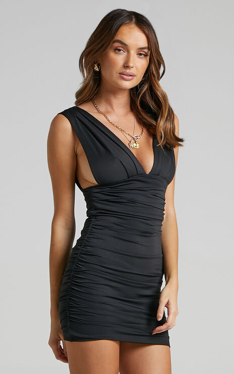 This Is Real Dress in Black