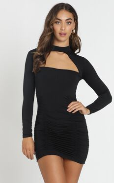 Bad Touch Dress In Black
