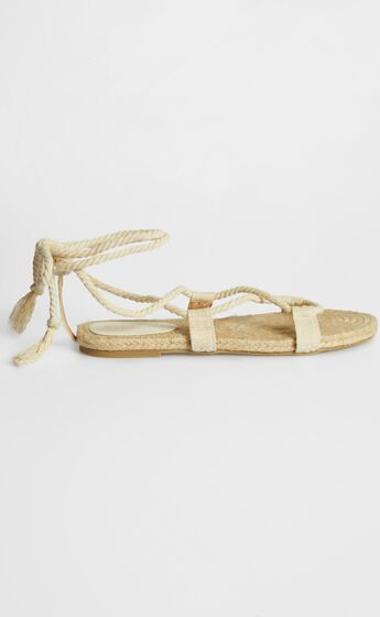 Billini - Kailey Sandals in Natural Linen