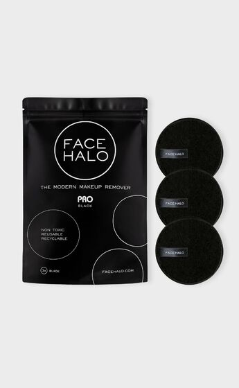 Face Halo - Pro 3 Pack in Black