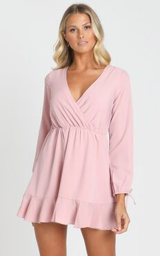 Can We Stop Dress in Blush