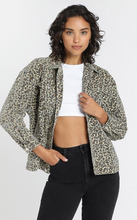 Fab Jacket in Leopard