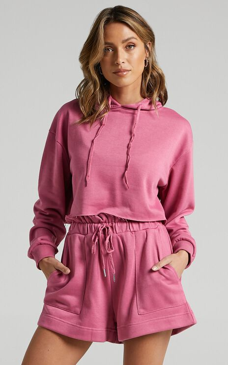Step Around Shorts in Pink