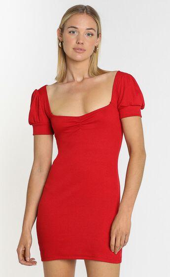 Willa Mini Dress in Red