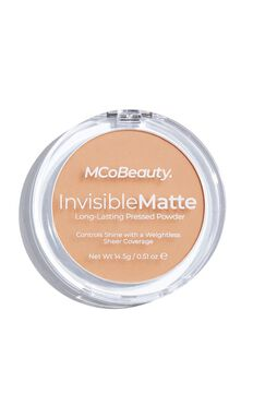 MCoBeauty - Invisible Matte Pressed Powder In Nude Beige