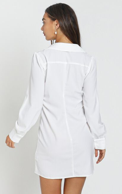 Fabienne Dress in white - 8 (S), White, hi-res image number null