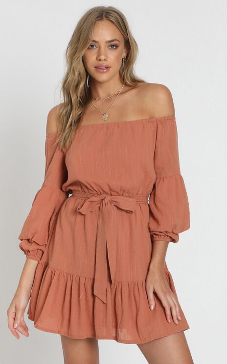 Getting It Right The First Time Dress In Dusty Rose