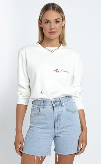 Zya The Label - Synchronicity Top in White