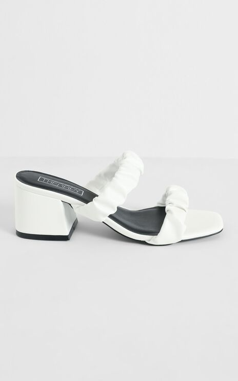 Therapy - Suane Heels in White