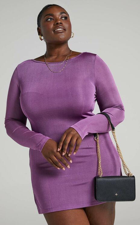 Lioness - Montana Dress in Dark Orchid