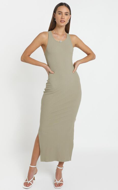 Estelle Dress in Olive