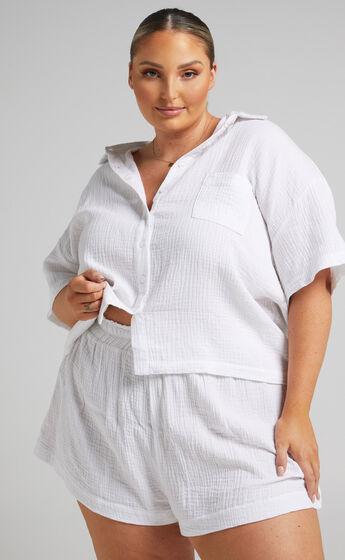 Donita Shorts in White