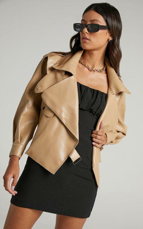 Hanley Jacket in Beige