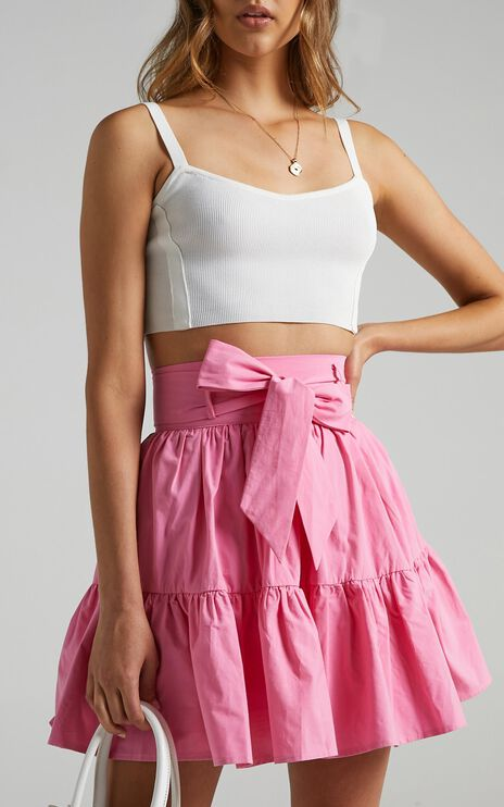 Sabah Skirt in Bubblegum Pink