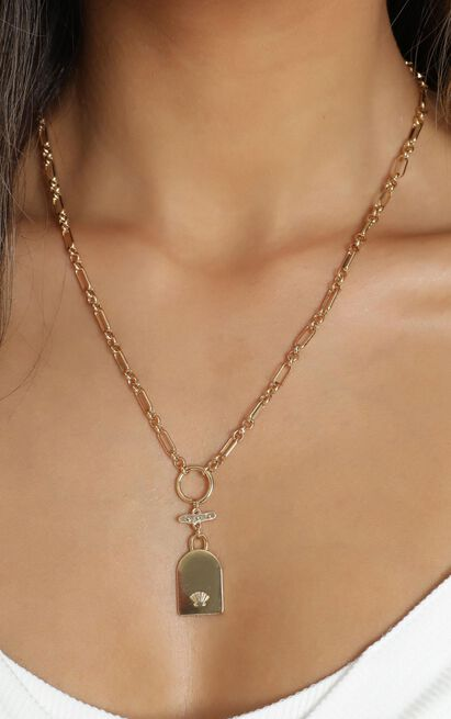 Minc Collections - Escape Chain Necklace In Gold, , hi-res image number null