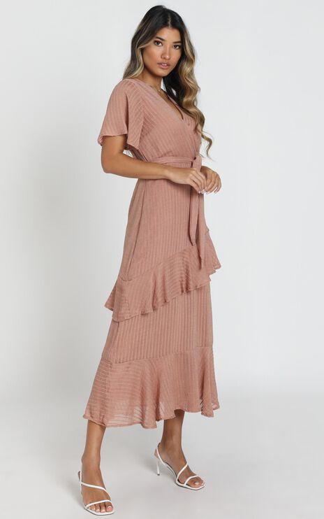 Alba Dress In Mauve