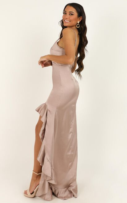 Find It In Your Heart Dress in blush satin - 20 (XXXXL), Blush, hi-res image number null