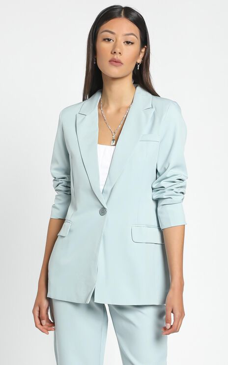 Monroe Blazer in Blue