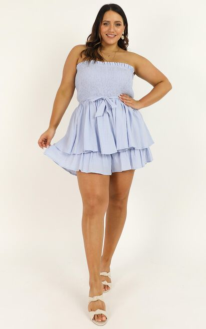 Mutual Love Playsuit in blue - 20 (XXXXL), Blue, hi-res image number null