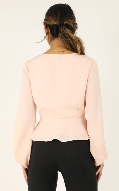 Three Steps Ahead Top In blush - 20 (XXXXL), Blush, hi-res image number null